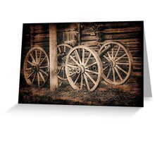 Old Cannons Photo Greeting Card