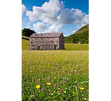 Barns and Meadows Photographic Print