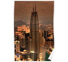 Kuala Lumpar Tilt Shift Poster