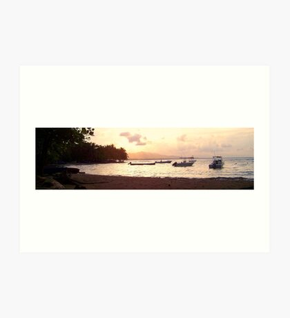 Where I want to retire - Costa Rica Art Print