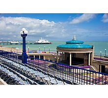 Bandstand's Waiting Photographic Print