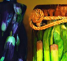 Vegetable Decor by pat gamwell