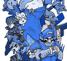 Shadow Realm Blue. by exogreyfox