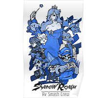 Shadow Realm Blue. Poster