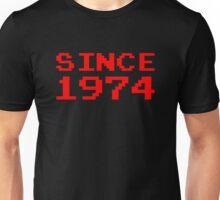 SINCE 1974 Unisex T-Shirt