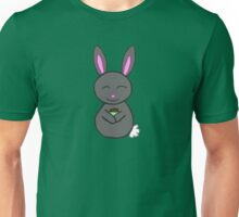 Bunny loves cupcakes Unisex T-Shirt