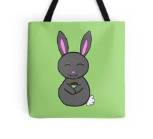 Bunny loves cupcakes Tote Bag