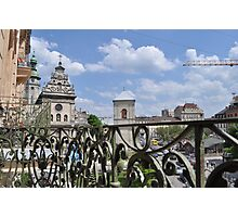 Lvov - Balcony Photographic Print