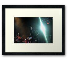 Chris Corner - IAMX - Live in Lvov Framed Print