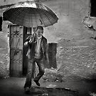 Rain falling from the sky. by Farfarm