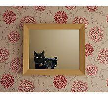 Self Pawtrait Photographic Print