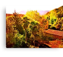 Good Moring Bagà Canvas Print