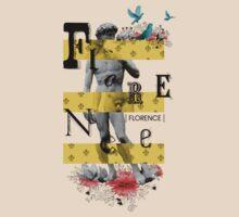 Collage italian Florence spirit by Vinchenko