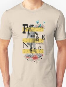 Collage italian Florence spirit T-Shirt