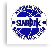Ryonan High Basketball Club Logo Canvas Print