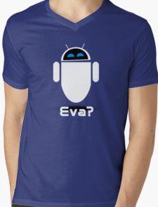 Evadroid Mens V-Neck T-Shirt