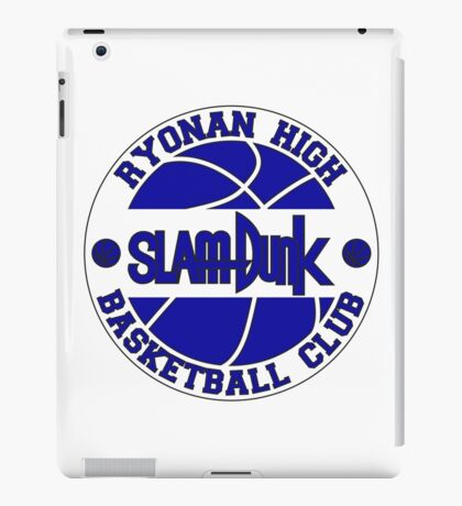 Ryonan High Basketball Club Logo iPad Case/Skin