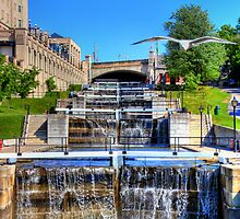 Rideau Canal Lockstations - UNESCO World Heritage Site by JamesA1