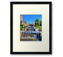 Rideau Canal Lockstations - UNESCO World Heritage Site Framed Print