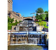Rideau Canal Lockstations - UNESCO World Heritage Site Photographic Print