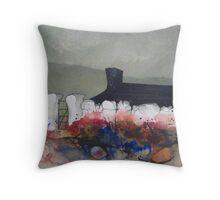 Greeting Card - Scottish Eden, Scottish Highlands - Watercolour - Sam Austrin-Miner Throw Pillow