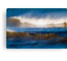 Wind Swept Ocean Canvas Print