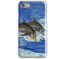 Dolphins in the Ocean iPhone Case/Skin