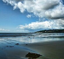 View From Charmouth To Lyme by lynn carter