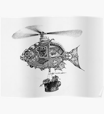 Weebits Flying Fish Excursion Poster