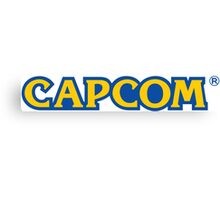 CAPCOM Canvas Print