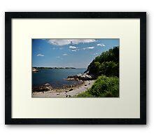 Towards Newport Framed Print