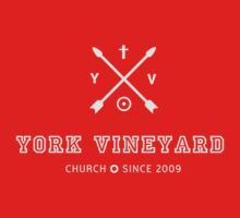 York Vineyard Donut logo in off white One Piece - Long Sleeve