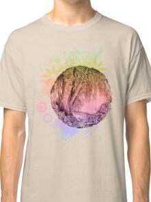 Flowers and trees Classic T-Shirt