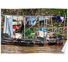 Laundry Raft Poster