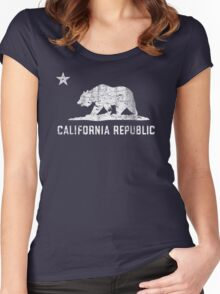 VIntage California Republic Women's Fitted Scoop T-Shirt