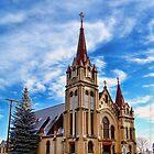 Christmas Church by rocamiadesign