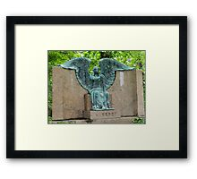 The Haserot 'Weeping Angel' Framed Print