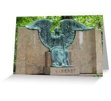 The Haserot 'Weeping Angel' Greeting Card