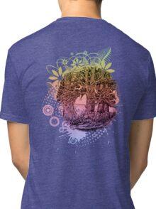 Trees near river Tri-blend T-Shirt