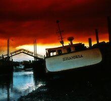 Awaiting the storm by Harv Churchill