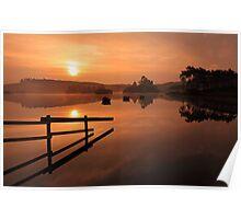 Knapps Loch Sunrise Poster