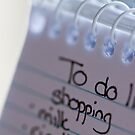 """to do"" list by Hege Nolan"