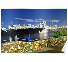 Brisbane City - Cityscape Poster