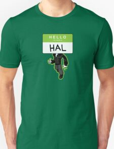 HELLO my name is HAL T-Shirt