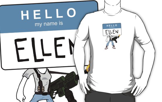 HELLO my name is ELLEN by boywonderkyle