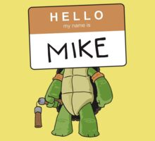 HELLO my name is MIKE by boywonderkyle