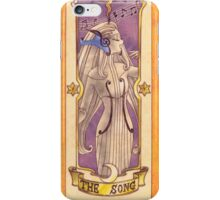 """Clow card """"The Song"""" iPhone Case/Skin"""