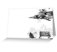 Lonlyness Greeting Card