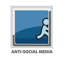 Anti-Social Media Photographic Print