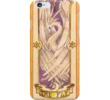 "Clow card ""The Fly"" iPhone Case/Skin"